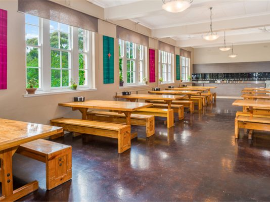 Therapeutic Community dining hall