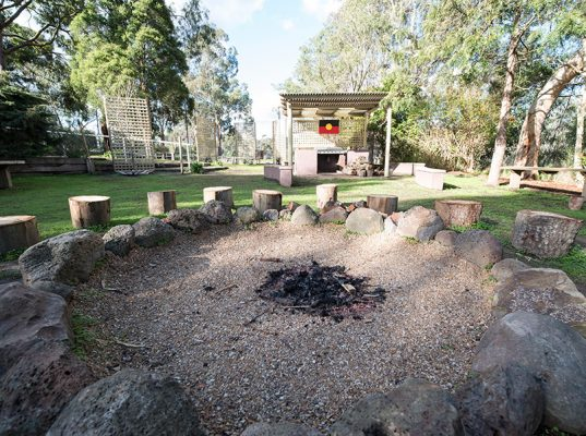 Therapeutic Community fire pit