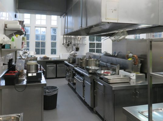 Therapeutic Community kitchen