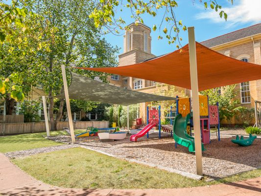 Therapeutic Community children's playground