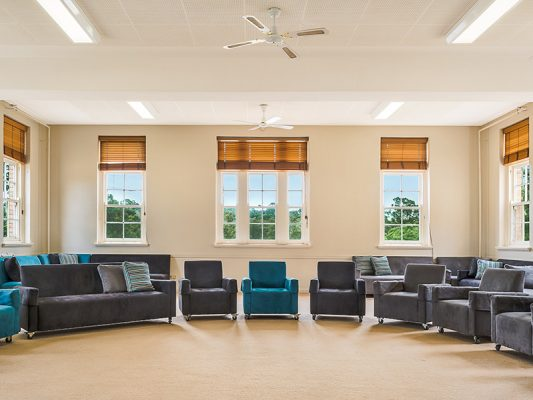 Therapeutic Community meeting room