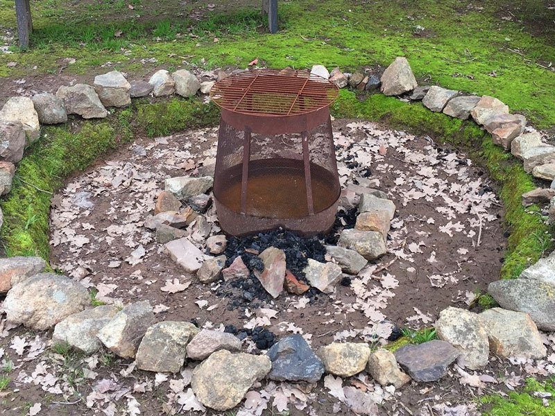 Fire Pit at Circuit Breaker